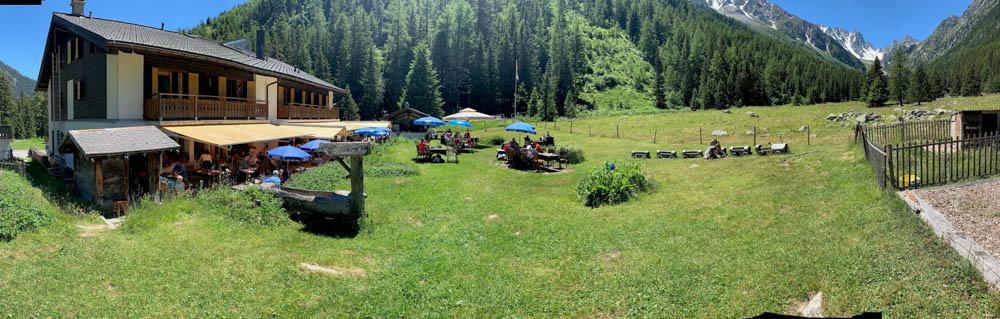 Swiss refuge TMB