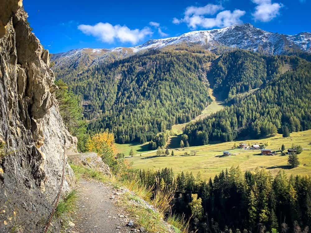 tour du mont blanc Switzerland