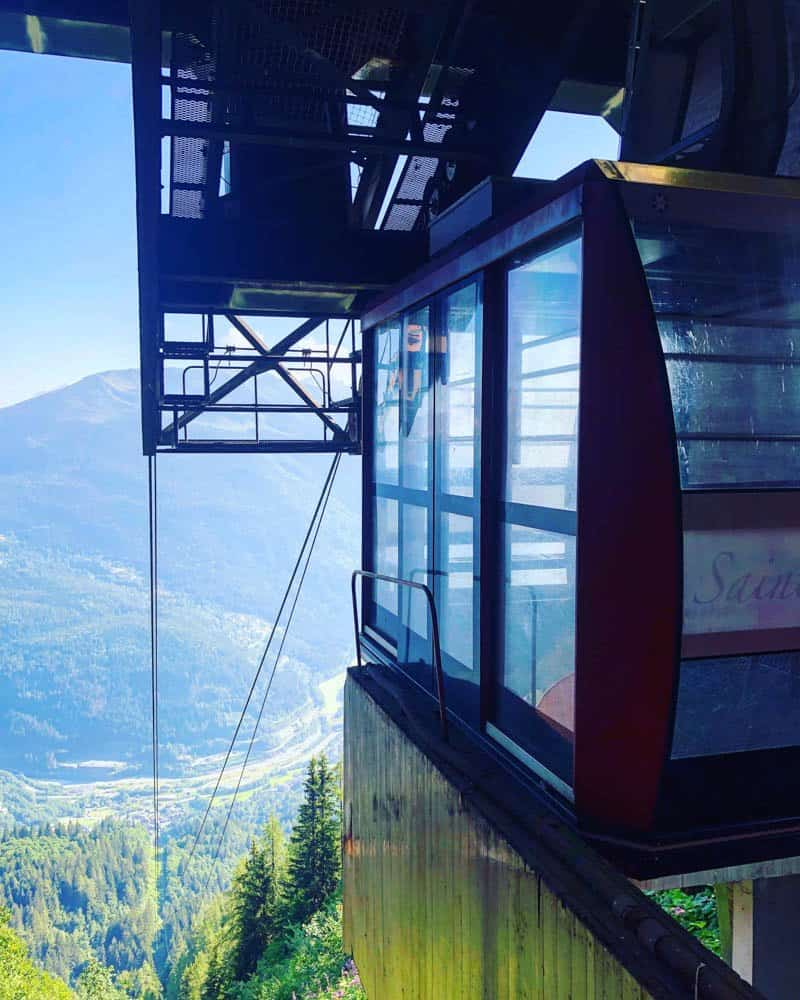 Les Houches cable car