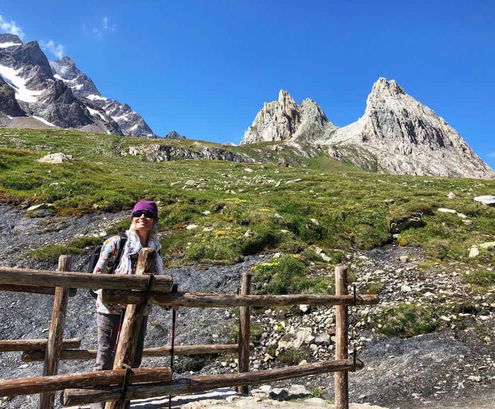 hiking TMB