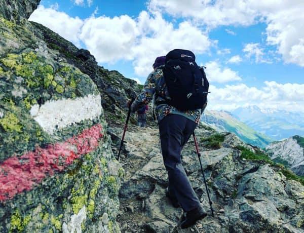 mont blanc hiking trail